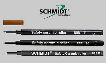 Schmidt 888 F Safety Ceramic Roller Refill, Germany