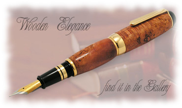 Elegance of Wooden Pens